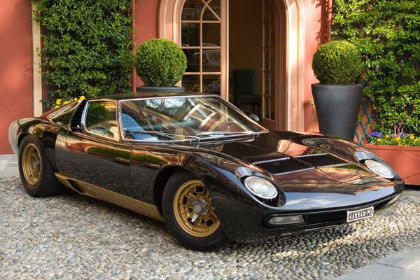 1971 Lamborghini Miura SV    The first exotic car—Brauer says this was due to the Lamborghini Miura SV's mid-engine V12, making it one of the fastest production cars available in 1971.