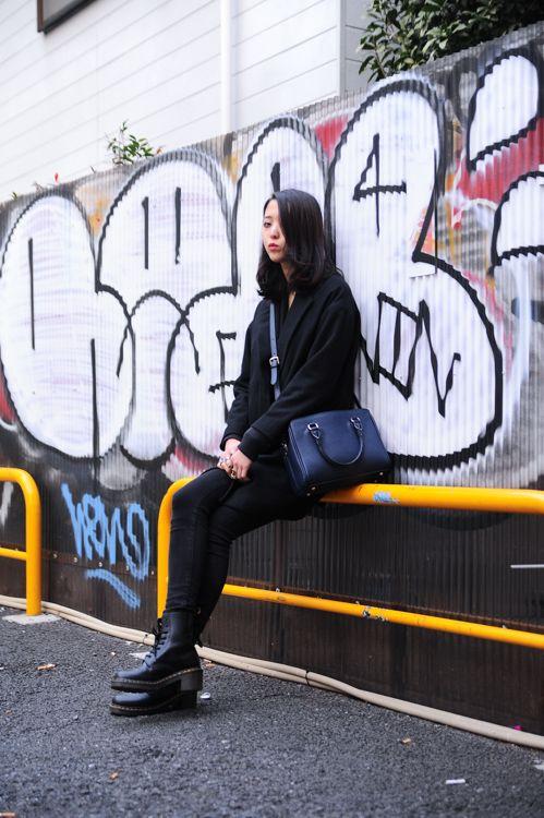 丸山 侑希子   ストリートスタイル・スナップ   ファッションプレス