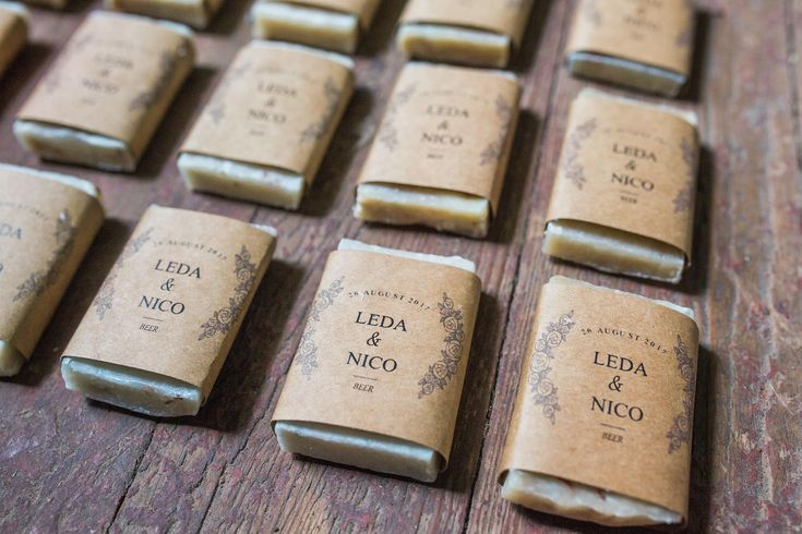 Best Last Minute Wedding Gifts: Best 25+ Soap Favors Ideas On Pinterest