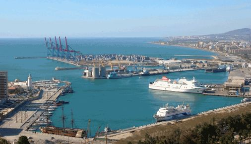 The Tanger-Med port in Tangier, Morocco, is one of the world's newest ports and is quickly becoming one of the busiest in Africa. It has 2 container terminals with a capacity of 3 million TEUs and has plans to build a third terminal, bringing the port's total capacity to 8 million containers by 2015. The busy Moroccan port is located in the Gibraltar Strait, which happens to be one of the busiest shipping lanes in the world.