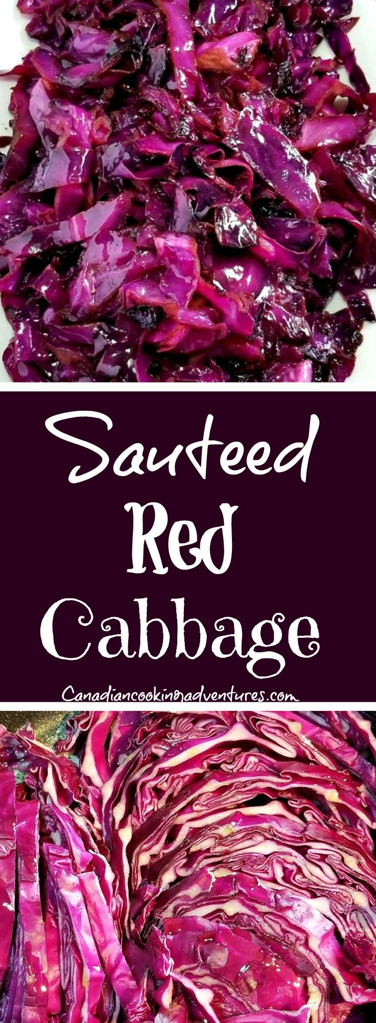 Sauteed Red Cabbage! https://canadiancookingadventures.com/recipe/sauteed-red-cabbage/ #cabbage #red #sidedish #vegetable #delcious #foodie #buzzfeedfood #buzzfeed #EEEEEATS #buzzfeast #healthyrecipes #getinmybelly #MealPrep #Bowls #lowcarb #carbfree #vegetariano #glutenfree #recipe #buzzfeed #recipes #recipe #foodie #food #foodgram #mealpreps #foodie #foodblogger #eatingspoon #recipe #loveyourself #cancerfighting #healthyrecipes #antioxidants #canadiancookingadventures