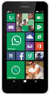 Celular Nokia Lumia 630 Blanco - Tienda movistar