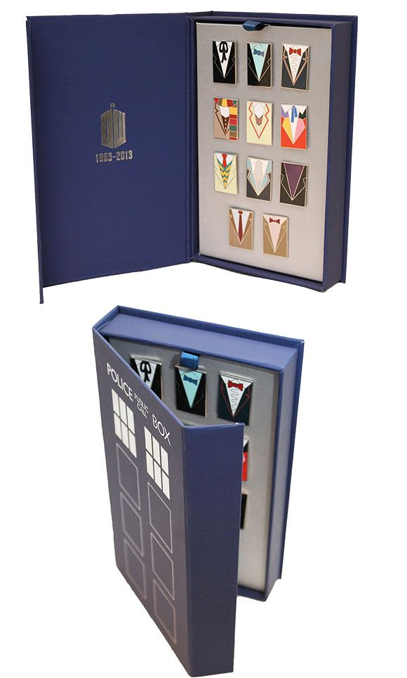 50th Anniversary Pin Badge Set (BBC Shop Exclusive) – Merchandise Guide - The Doctor Who Site