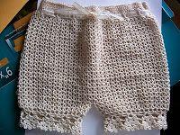 Crochet Baby Bloomers/Panties Pattern ($3.50)