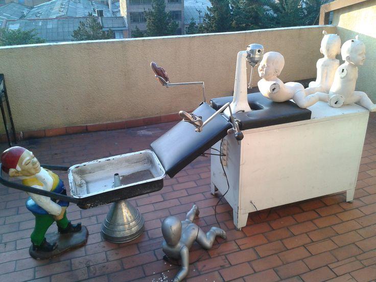 Maquina de Helados, ensamble de Objetos