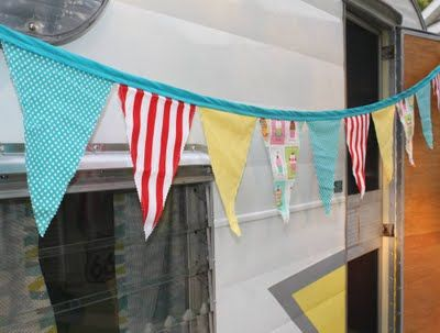 Tutorial How to make pennant banners