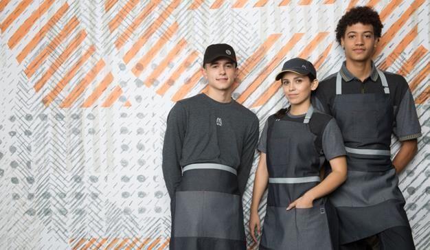 Te han gustado los nuevos uniformes de Mc Donald's en Estados Unidos?