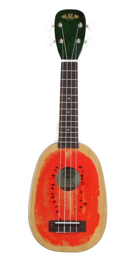 Kala KA-WTML Watermelon Print Soprano Ukulele