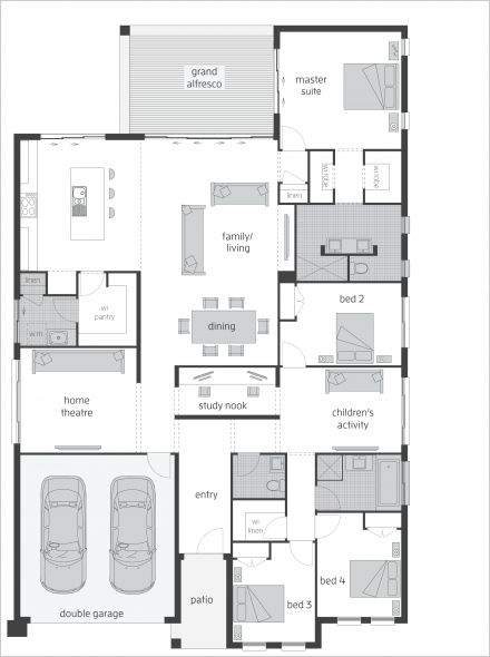 Oasis Two - Floor plan