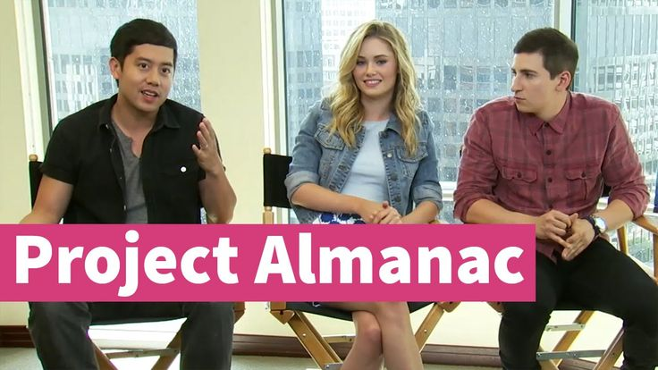 We got the chance to talk to the cast of Project Almanac! Allen Evangelista (Adam), Virginia Gardner (Christina) & Sam Lerner (Quinn) told us everything about the filming of this movie!