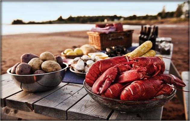 If you enjoy Lobster and good in general; our little Island is a basket of natures bounty.