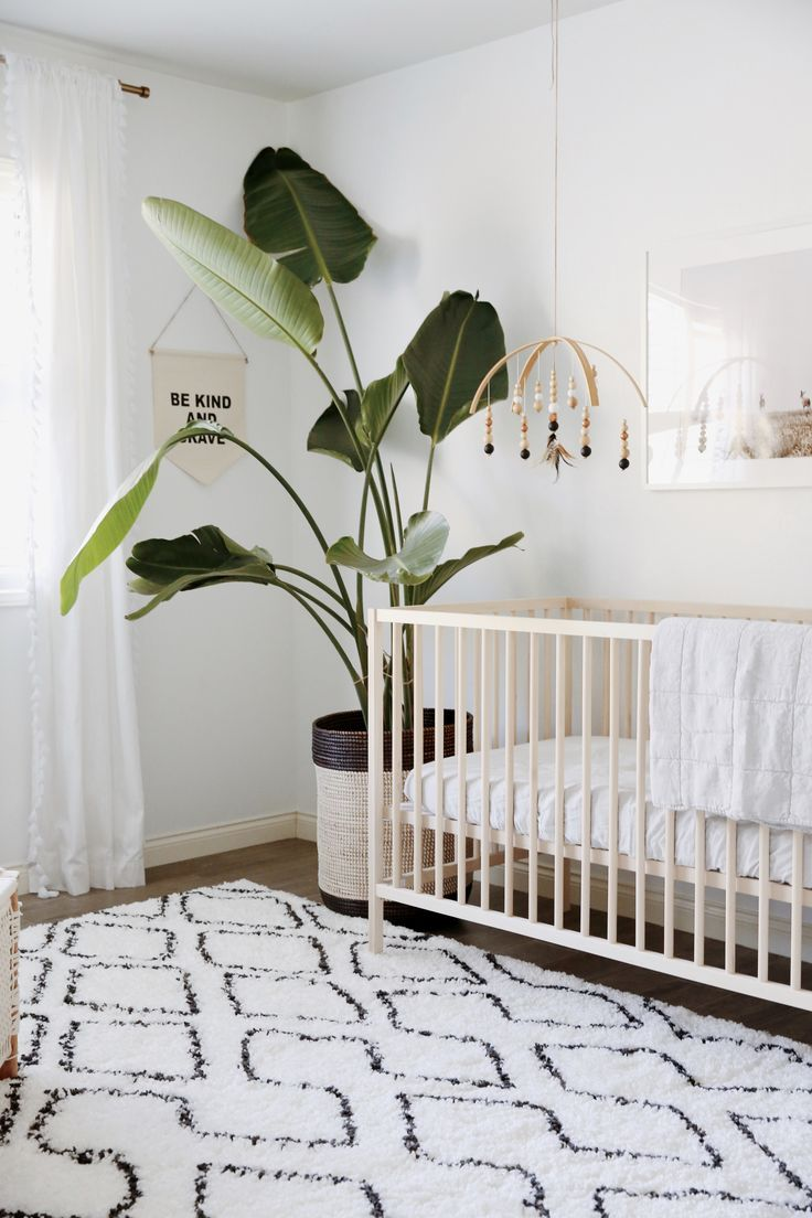 Over The River And Through The Woods Minimalist Nursery Gender
