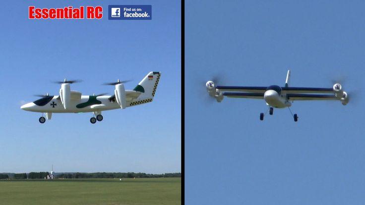 *AMAZING* RIPMAX TRANSITION VTOL (Vertical Take-Off and Land) RC PLANE