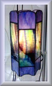 Sebuti Tiffany Glas-in-lood ontwerpen/patronen van vol-glazen Tafellampen