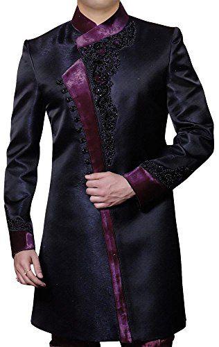 INMONARCH Mens Stylish Pattern Black Indo Western IN331  http://www.allmenstyle.com/inmonarch-mens-stylish-pattern-black-indo-western-in331/