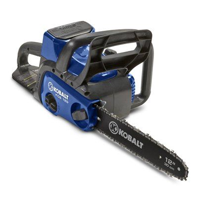 Kobalt 2000203 40-Volt Max 12-in Cordless Electric Chainsaw