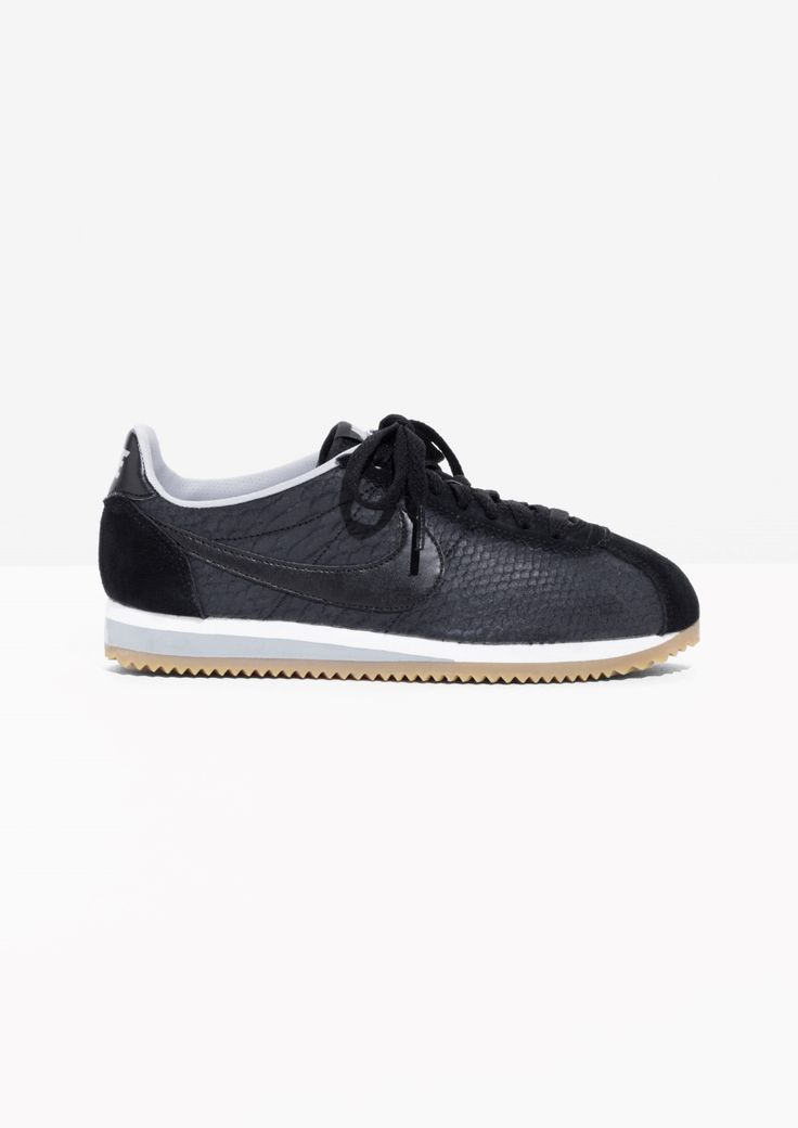 & Other Stories image 1 of Nike Classic Cortez Leather in Black