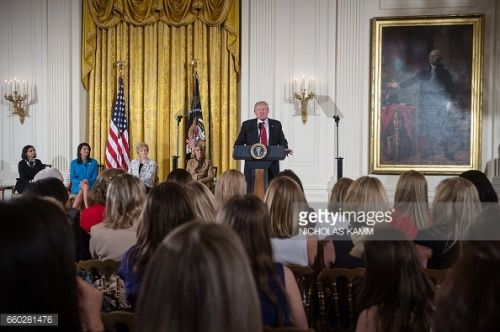 03-29 US President Donald Trump addresses the Womens Empowerment... #rochefortprovincedenamur: 03-29 US… #rochefortprovincedenamur