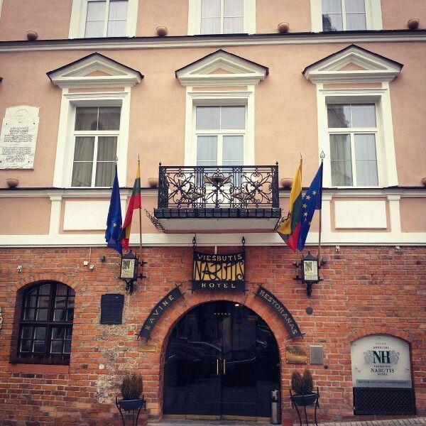 The Narutis Hotel in Vilnius
