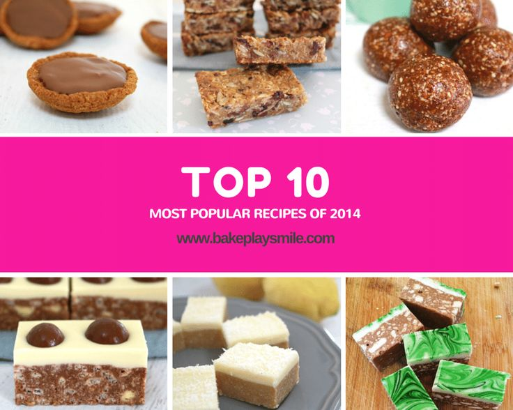 The 10 Most Popular Recipes of 2014 from Bake Play Smile are all right here... but be warned - there's a whole lot of sugar involved!