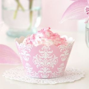 Let's Party With Balloons - Illume Design Pink Damask Cupcake Wrappers, $9.00 (http://www.letspartywithballoons.com.au/illume-design-pink-damask-cupcake-wrappers/?page_context=category