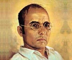 V.D.Savarkar, a hard core nationalist patriot wrote the book The First war of Indian Independence.He was exiled by the British to the infamous Cellular jail in Andaman Islands.