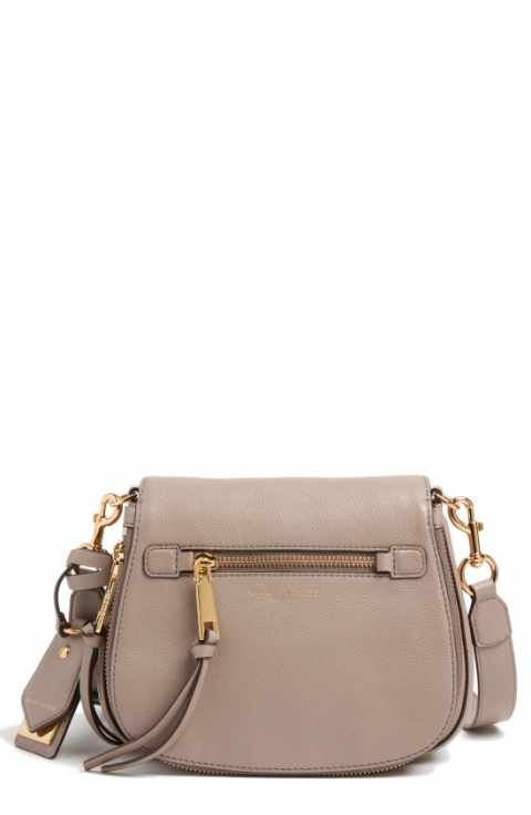 527642f7e41b MARC JACOBS Small Recruit Nomad Pebbled Leather Crossbody Bag ...