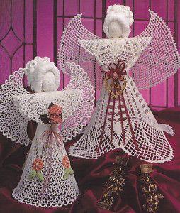 Free Crochet Angel Ornament Pattern | ANGELS PATTERNS TO CROCHET « FREE Knitting PATTERNS