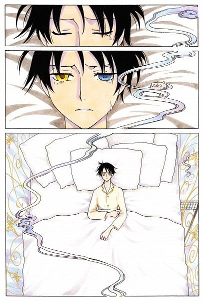 Tags: Anime, xxxHOLiC, Watanuki Kimihiro, Scan, Manga Color