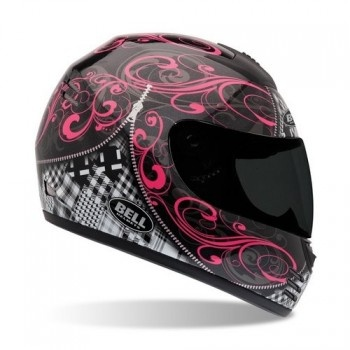 Bell Arrow Zipped Womens Motorcycle Helmet - Pink/Black - 812420 - Crazy Al's Powersports Supply