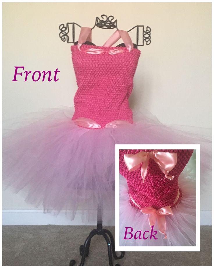Pinky pink Tutu dress fits sizes 3-8/10