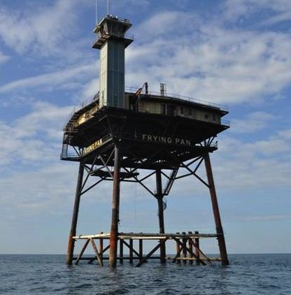 47 best images about history of cape fear north carolina for Frying pan tower fishing