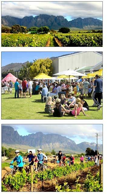 Breedekloof Outdoor Festival in October, Cape Town, South Africa