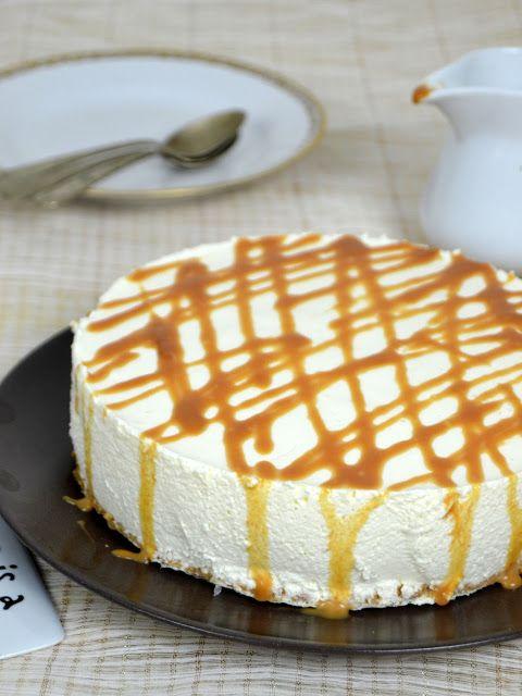 Tarta de queso y leche condensada ¡Sin horno!
