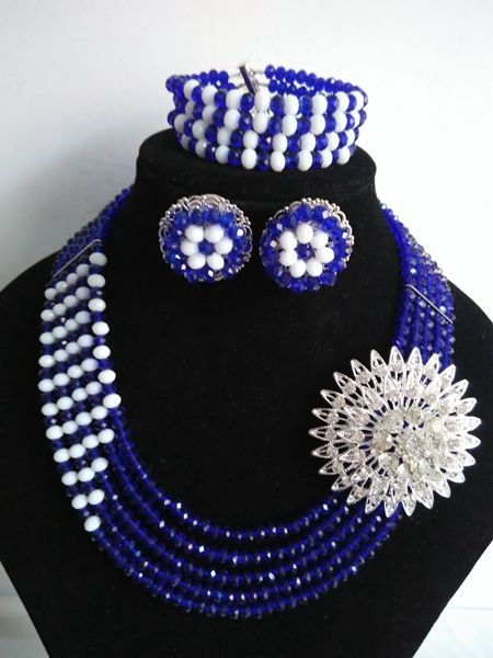 find more jewelry sets information about fashion african beads jewelry set royal blue nigeria wedding crystal