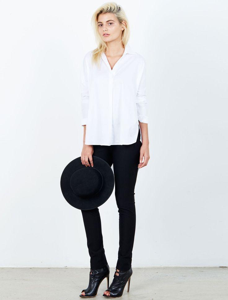 ISLA  - Tales White Shirt