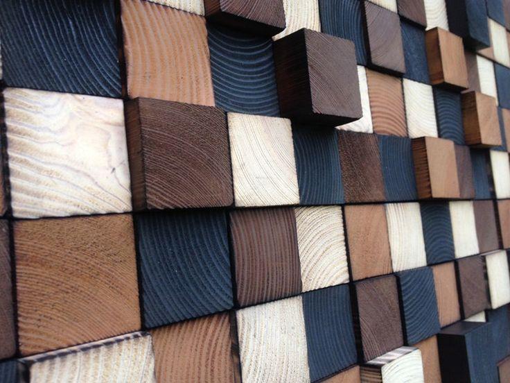 Wood Wall Art - Wood Art - Reclaimed Wood Art by WallWooden on Etsy https://www.etsy.com/listing/245036291/wood-wall-art-wood-art-reclaimed-wood