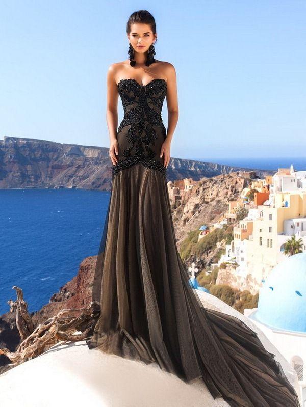 e68a1120a835681 Модные вечерние платья 2018-2019: фото, самые красивые вечерние платья  фасоны