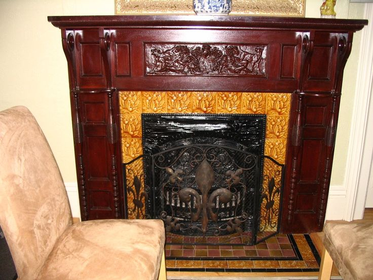 1000 Images About Mantels Inserts Tiles In Old Houses