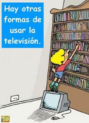 Hay otras formas de usar la tele.
