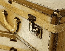 The nitty gritty on exactly how to clean out and refurb an old suitcase...before you make it all pretty-like.
