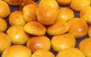Фото к рецепту: Творожные пряники с цитрусовой глазурью