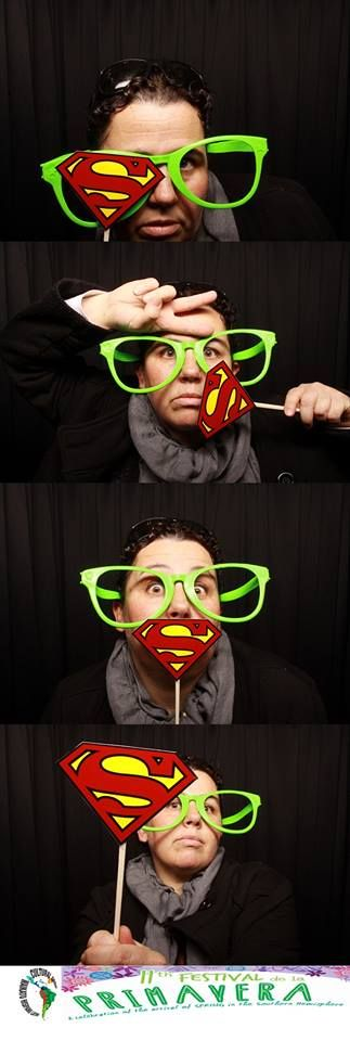 Super Pepa, owner/ photographer at PT´s Foto Fun in a Photo Booth