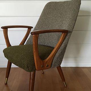 """Another chair is in the hood """"Kelly"""" stol fra Lied Lenestolfabrikk #retro#liedlenestolfabrikk #kellystol#kelly#lied#vintage#lenestol#norwegian#norw..."""
