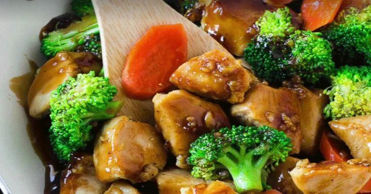 Peu de temps pour cuisiner? Avec ce sauté, vous aurez un repas prêt en quelques minutes!