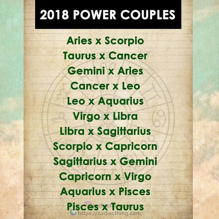 These couples will get the best out of 2018 ...I can believe it I've always got along well with Aquarius n Taurus people so well #pisces