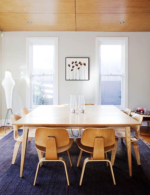COOGEE HOUSE | alwill  #interiors #diningroom #wood #artwork #lamp