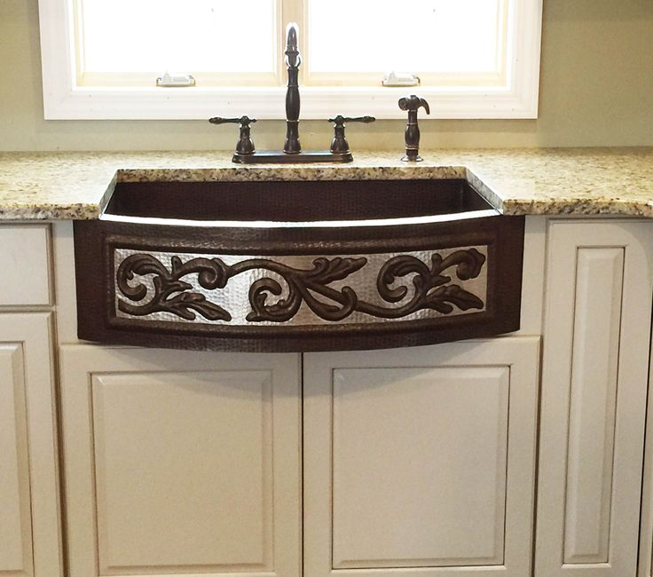 Best 25 Copper Sinks Ideas On Pinterest Country Kitchen Sink Copper Farm Sink And Copper