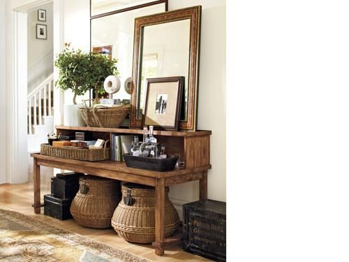 118 best images about pottery barn look on pinterest for Pottery barn foyer ideas