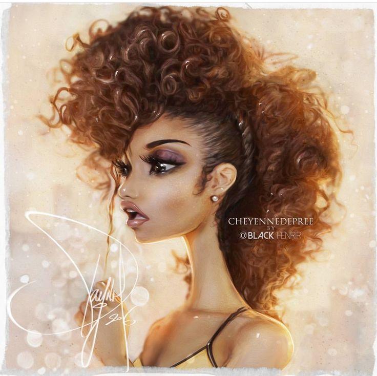 badass frohawk hair it is pinterest drawings